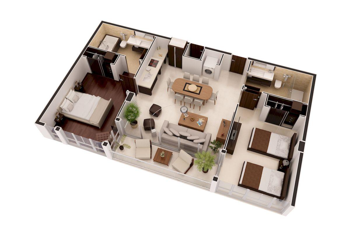 Floor plans 3d support rendering service xpress rendering for 3d floor plan rendering