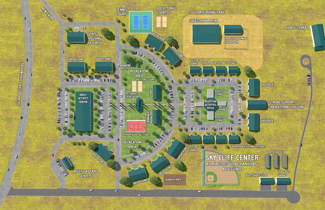 3d site plans 3d rendering services xpress rendering for Site plan design
