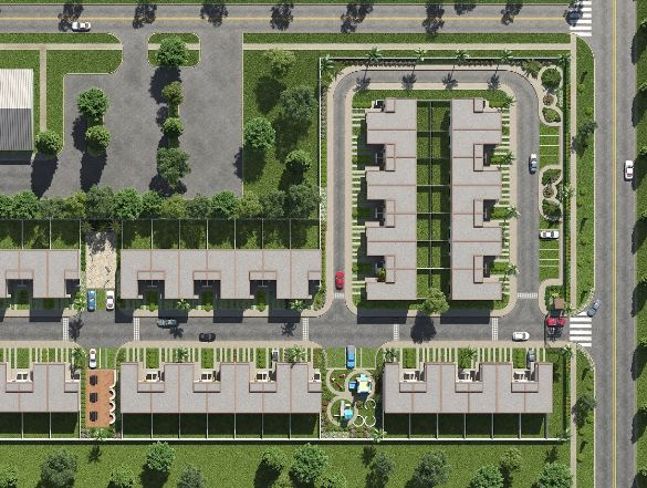 Site Plans 3D Rendering Services