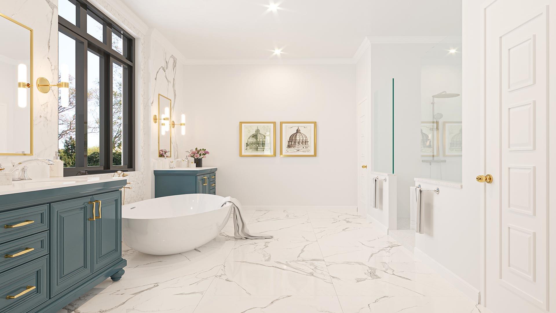 3D Render Interior Warmick Way