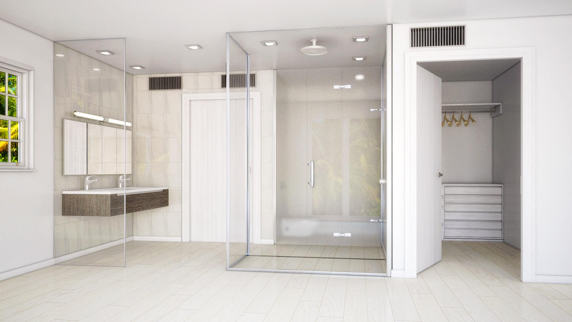 3D Render Interior Mastbath