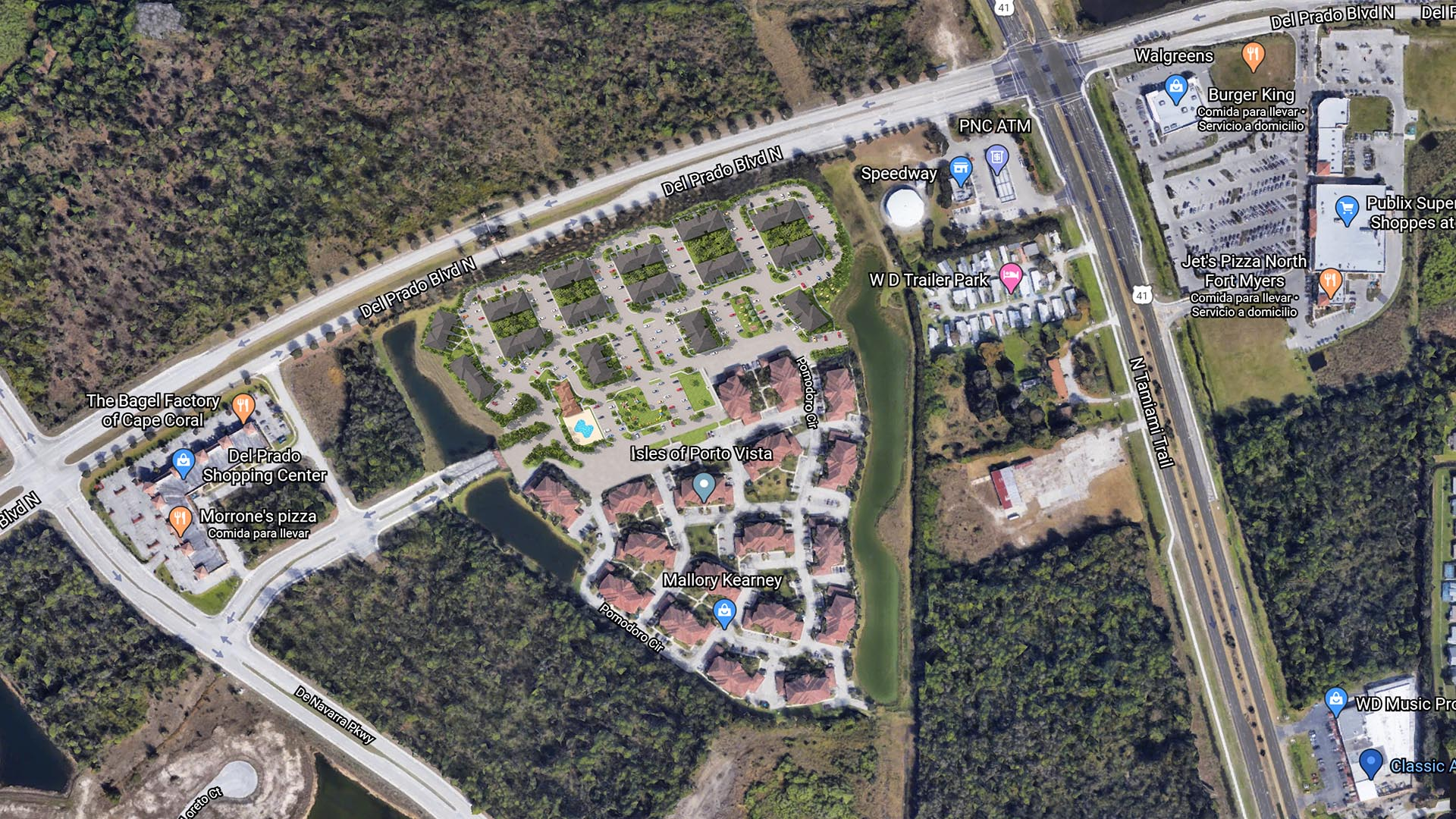 3D Render Site Plan top view 8