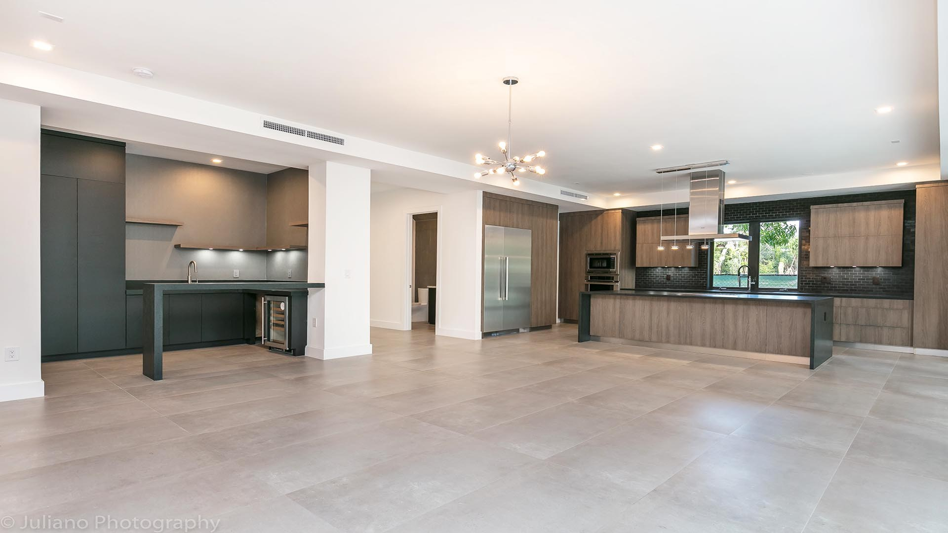 3D Render Virtual Staging Kitchen and Wet Bar 2
