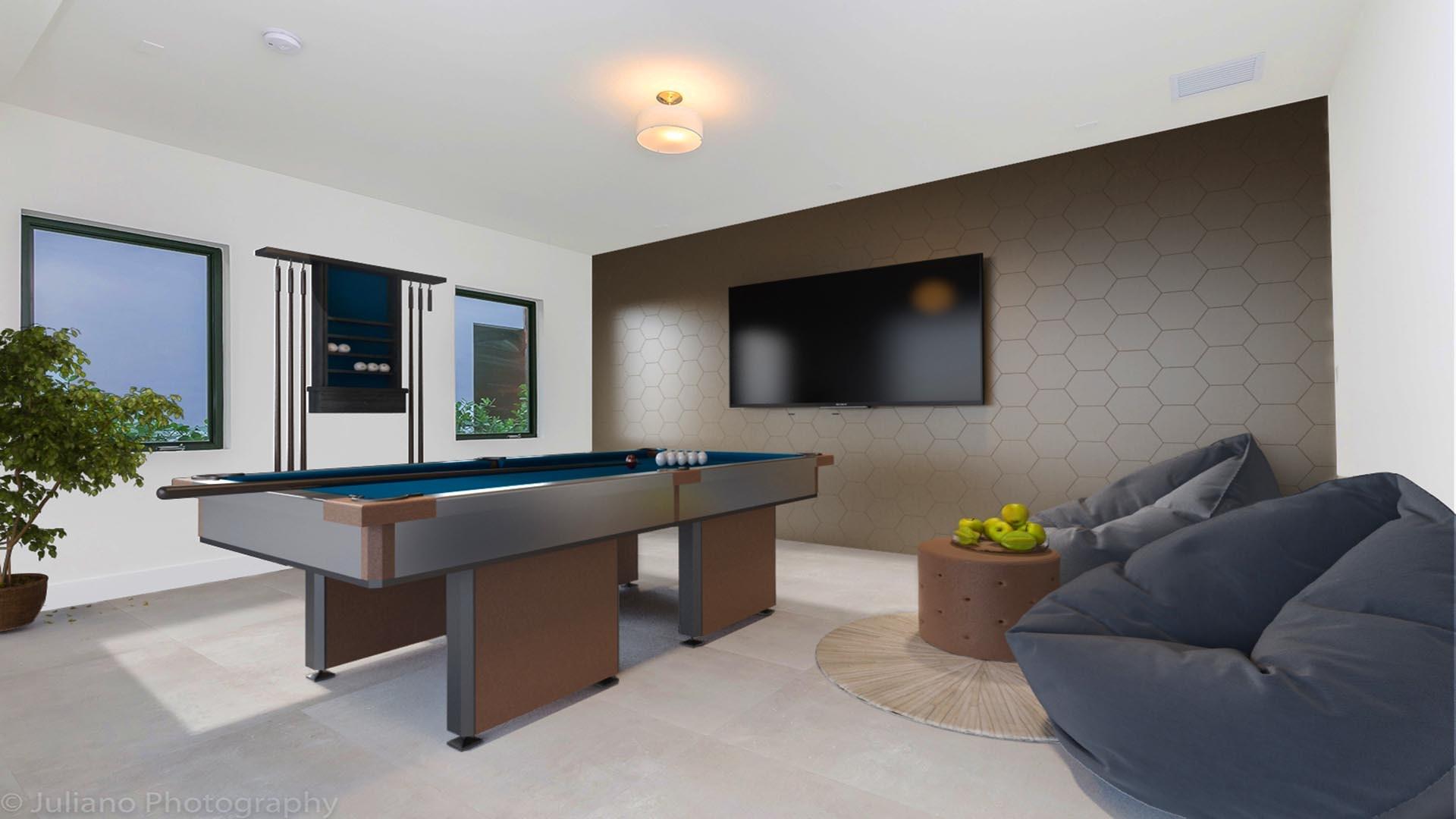 3D Render Virtual Staging Formal living room
